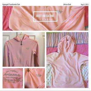 Young girls zip up hoodie